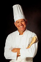 Chef with hat, portrait