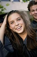 High school graduates, portrait