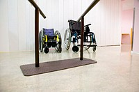 Wheelchairs and support bars