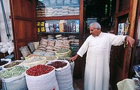 Spices market. Dubai. United Arab Emirates