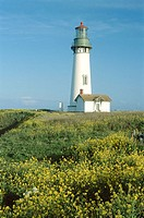 Yaquina Head lighthouse. Oregon, USA