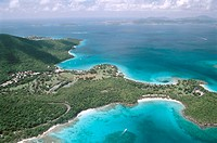 Caneel Bay, St. John, US Virgin Islands. West Indies, Caribbean