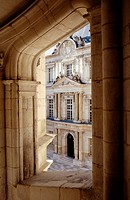 Royal Castle detail, Blois. Val-de-Loire, France