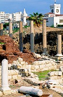 Roman theater of Kom El-Dik. Alexandria. Egypt