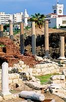 Roman theater of Kom El-Dik. Alexandria. Egypt