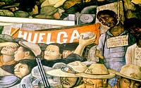 Painting by Diego Rivera