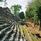 Yaxchilan, ruins of ancient Maya city. Chiapas, Mexico