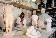 Copy of antic models. Sculptor Beatrice Palma. Rome. Italy.