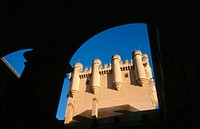 Alcazar, Arab fortress rebuilt in 15th-16th century. Segovia. Spain