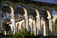 Bahamas, New Providence Island, Nassau: Paradise Island, The Cloisters Reconstructed 600 year old French Structure