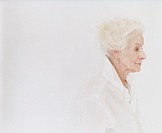 Studio Shot of a Senior Woman