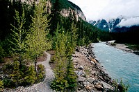 Rocky Mountains. Banff-Jasper National Parks. Canada