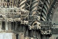 italy, abruzzo, l´aquila, santa maria paganica church