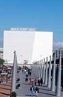 Imax Port Vell. Barcelona, Spain