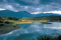 italy, lazio, amatrice, scandarello lake