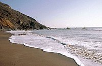 Muir beach. Golden Gate National Recreation Area. California. USA