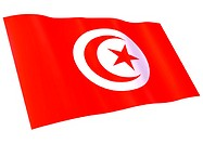 Flag of Tunisia (thumbnail)