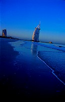 Burj Al Arab hotel in Dubai