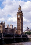 London, Westminster/ Westminster Bridge und Big Ben