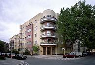 Berlin, Bolivarallee 9 / Mehrfamilienhaus von Peter Behrens 1930