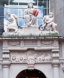 Amsterdam, Rasphuis/Relief über der Tür