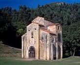 Oviedo, San Miguel de Lillo/ Präromanische Kirche, errichtet unter Ramiro I. (842-850)