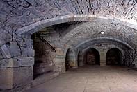 Trier, Basilika/ Mittelalterlicher Weinkeller aus dem 13. Jahrhundert
