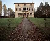 Lughignano di Casale sul Sile, Villa Dall' Aglio/ Fassade