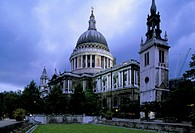 europe, england, london, saint paul´s cathedral, 1670-1711