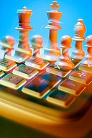 Chess and calculator