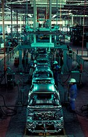 Proton assembly plant, Shah Alam, Selangor, Malaysia