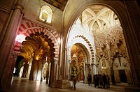 Capilla de Villaviciosa. Great Mosque. Cordoba. Andalusia. Spain