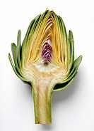 Half an artichoke