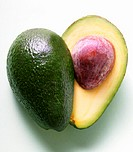 Avocado, halved