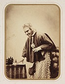´Mr Werner as Richelieu´, c 1857.Photograph by Henry Peach Robinson (1830-1901), extremely influential in nineteenth century photography circles and r...