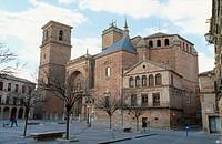 Main Square of Villanueva de los Infantes. Ciudad Real province, Castilla-La Mancha. Spain