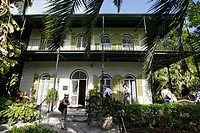 Ernest Hemingway's home in Key West, Florida. USA. December 2004