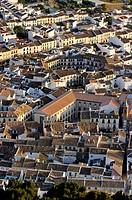 Plaza Ochavada dating 18th century, Archidona. Málaga province, Andalusia. Spain