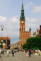 Long market. Gdansk. Poland.