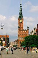 Long market. Gdansk. Poland.
