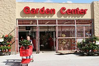 Garden Center entrance, Target Department Store, Miami, Florida. USA