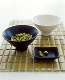 Wasabi peas (pea snack with spicy wasabi)