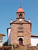 Church of Torazo. Cabranes, Asturias. Spain