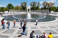 National World War II Memorial. Washington D.C., USA