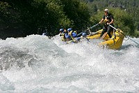 Rafting. Chile.