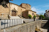 Church of Santa María de Fuentes Claras, Valverde de la Vera. Cáceres province, Extremadura, Spain