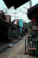 Fishing village, Penang, Malaysia