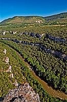 Cañones del Ebro (Ebro river canyons). Burgos province, Castilla-León. Spain