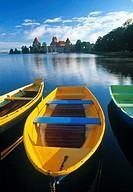 Trakai Island and Castle nr. Vilnius, Lithuania