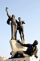 Martyrs statue at the Martyrs Square in Beirut, Lebanon (thumbnail)